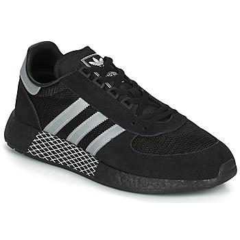 Čevlji  Nizke superge adidas Originals MARATHON TECH Črna / Bela