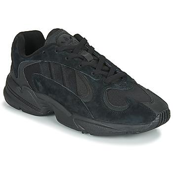 Čevlji  Moški Nizke superge adidas Originals YUNG 1 Črna