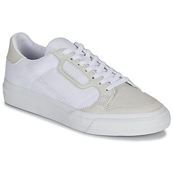 Čevlji  Otroci Nizke superge adidas Originals CONTINENTAL VULC J Bela / Bež