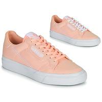 Čevlji  Deklice Nizke superge adidas Originals CONTINENTAL VULC J Rožnata