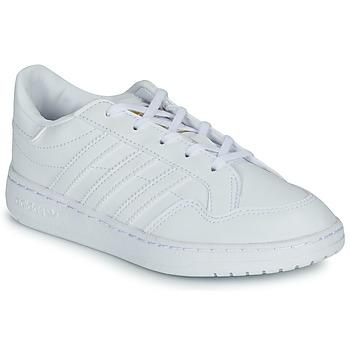 Čevlji  Otroci Nizke superge adidas Originals Novice C Bela