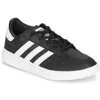 Čevlji  Otroci Nizke superge adidas Originals Novice C Črna / Bela