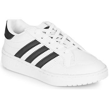 Čevlji  Otroci Nizke superge adidas Originals Novice C Bela / Črna