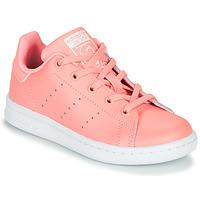 Čevlji  Deklice Nizke superge adidas Originals STAN SMITH C Rožnata