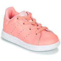 Čevlji  Deklice Nizke superge adidas Originals STAN SMITH EL I Rožnata