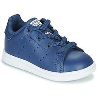 Čevlji  Dečki Nizke superge adidas Originals STAN SMITH EL I Modra