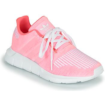 Čevlji  Deklice Nizke superge adidas Originals SWIFT RUN J Rožnata
