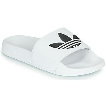 Čevlji  Natikači adidas Originals ADILETTE LITE Bela