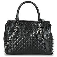 Torbice Ženske Ročne torbice Guess QUEENIE LUXURY SATCHEL Črna