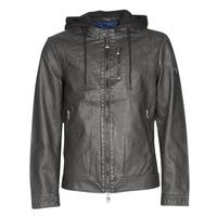 Oblačila Moški Usnjene jakne & Sintetične jakne Guess VINTAGE ECO-LEATHER JKT Črna