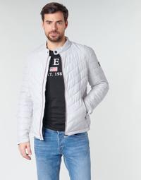 Oblačila Moški Puhovke Guess SUPER FITTED JKT TRAVEL Bela