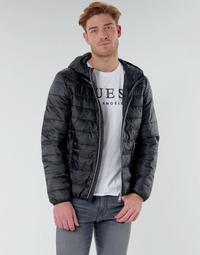 Oblačila Moški Puhovke Guess SUPER LIGHT ECO-FRIENDLY JKT Črna