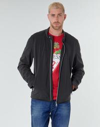 Oblačila Moški Jakne Guess CUMMUTER JACKET Črna