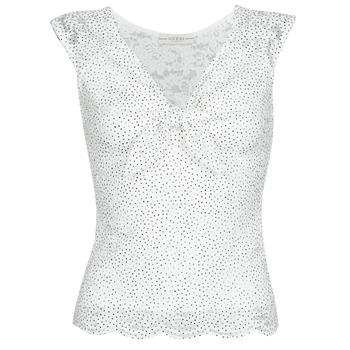 Oblačila Ženske Topi & Bluze Guess GIUNONE TOP Bela