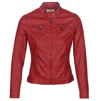 Oblačila Ženske Usnjene jakne & Sintetične jakne Moony Mood DUIR Rdeča