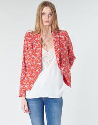 Oblačila Ženske Jakne & Blazerji Le Temps des Cerises KARMA Rdeča