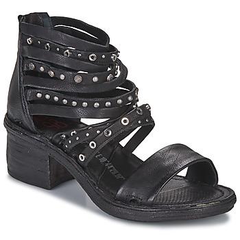 Čevlji  Ženske Sandali & Odprti čevlji Airstep / A.S.98 KENYA Črna