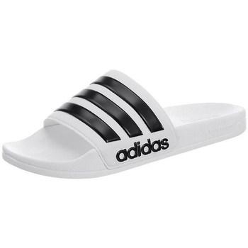 Čevlji  Moški Natikači adidas Originals Adilette Cloudfoam Bela,Črna