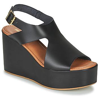 Čevlji  Ženske Sandali & Odprti čevlji Sweet Lemon IJOX Črna