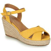 Čevlji  Ženske Sandali & Odprti čevlji Tom Tailor 8090105 Rumena
