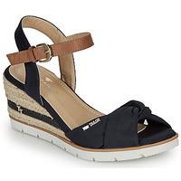 Čevlji  Ženske Sandali & Odprti čevlji Tom Tailor 8090403 Modra