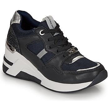 Čevlji  Ženske Nizke superge Tom Tailor 8091512 Črna