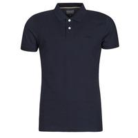 Oblačila Moški Polo majice kratki rokavi Esprit OCS PIQUE POLO SS Modra