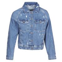Oblačila Ženske Jeans jakne Esprit ESPRILA Modra