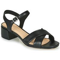 Čevlji  Ženske Sandali & Odprti čevlji Clarks SHEER35 STRAP Črna
