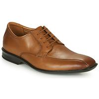 Čevlji  Moški Čevlji Derby Clarks BENSLEY RUN Kostanjeva