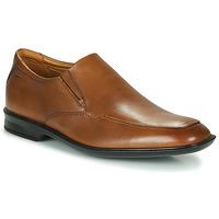 Čevlji  Moški Čevlji Derby Clarks BENSLEY STEP Kostanjeva