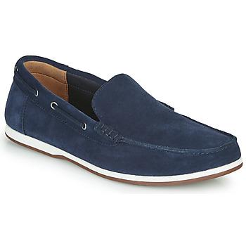 Čevlji  Moški Mokasini & Jadralni čevlji Clarks MORVEN SUN Modra