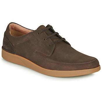 Čevlji  Moški Čevlji Derby Clarks OAKLAND CRAFT Kostanjeva