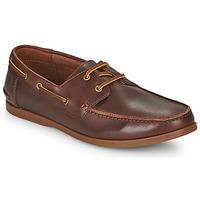 Čevlji  Moški Čevlji Derby Clarks PICKWELL SAIL Kostanjeva