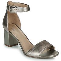 Čevlji  Ženske Sandali & Odprti čevlji Clarks DEVA MAE Srebrna
