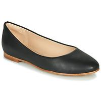 Čevlji  Ženske Balerinke Clarks GRACE PIPER Črna