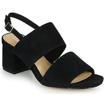 Čevlji  Ženske Sandali & Odprti čevlji Clarks SHEER55 SLING Črna