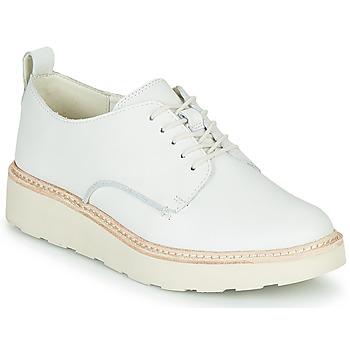 Čevlji  Ženske Čevlji Derby Clarks TRACE WALK Bela