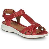 Čevlji  Ženske Sandali & Odprti čevlji Clarks UN ADORN VIBE Rdeča