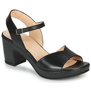 Čevlji  Ženske Sandali & Odprti čevlji Wonders NATURE-CUERO Črna