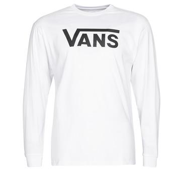 Oblačila Moški Majice z dolgimi rokavi Vans VANS CLASSIC Bela