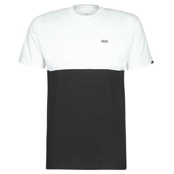 Oblačila Moški Majice s kratkimi rokavi Vans COLORBLOCK TEE Črna / Bela