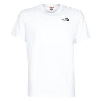 Oblačila Moški Majice s kratkimi rokavi The North Face S/S REDBOX Bela