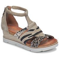 Čevlji  Ženske Sandali & Odprti čevlji Mjus TAPASITA Taupe