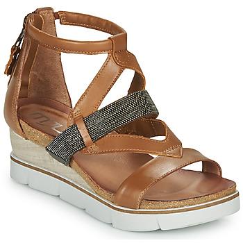 Čevlji  Ženske Sandali & Odprti čevlji Mjus TAPASITA Kamel