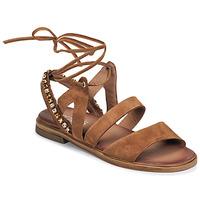 Čevlji  Ženske Sandali & Odprti čevlji Mjus GRAM LACE Kamel