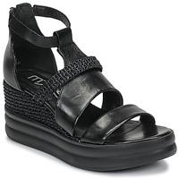 Čevlji  Ženske Sandali & Odprti čevlji Mjus BELLANERA Črna
