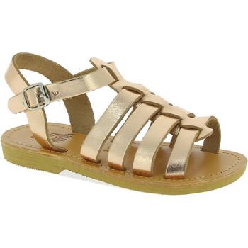 Čevlji  Deklice Sandali & Odprti čevlji Attica Sandals PERSEPHONE CALF GOLD-PINK oro
