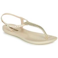Čevlji  Ženske Sandali & Odprti čevlji Ipanema CLASS GLAM III Bež / Pozlačena