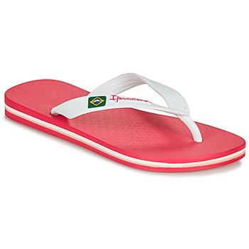 Čevlji  Deklice Japonke Ipanema CLAS BRASIL II Rožnata / Bela